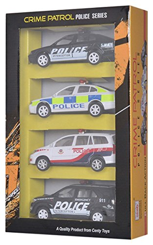 Centy Crime Patrol Car Series, Multi Color