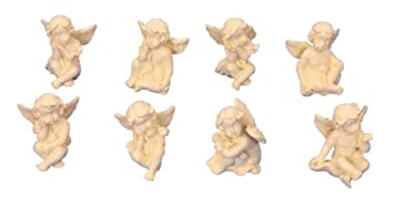 Amazonde 8 Kleine Süsse Engel Figuren Je 3cm