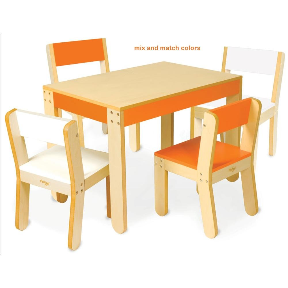 P'kolino Little One's Table and Chairs - Cobalt
