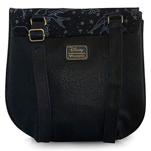 Neve sacchetto bianco neve Tatoo Bianca Bag Disney Loungefly 31x30x3,5cm rosso nero