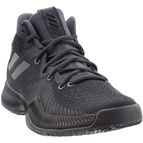 adidas Performance Men's Mad Bounce Basketball Shoe, Utility Black/Core Black/Grey Four, 10 M US