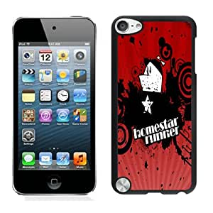Popular Designed Case With Homestar Runner Cover Case For iPod Touch 5th Black Phone Case CR-302