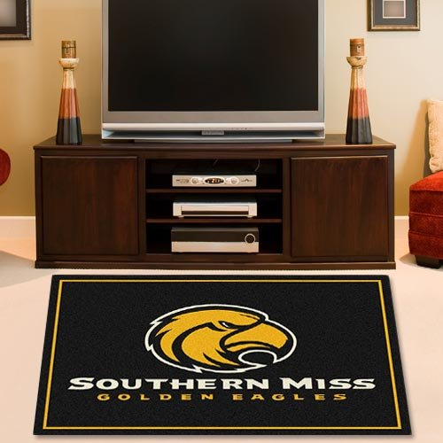 NCAA Southern Miss Golden Eagles 2'8'' x 3'10'' Collegiate Rug