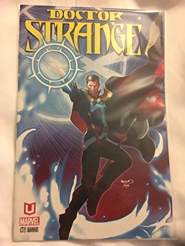 Price comparison product image Marvel Unlimited Exclusive Variant Cover Dr Doctor Strange 6 ( Red White Blue copy with Yellow title )
