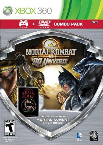 - Mortal Kombat vs DC Universe - Silver Shield Combo Pack - Xbox 360