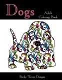 Dogs: Adult Coloring Book