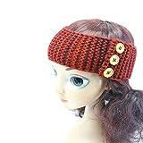 Autumn Water Europe Winter Headband Knitting Ear