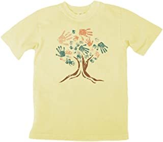 product image for Earth Creations Boys Clay Dyed Treehugger T-Shirt