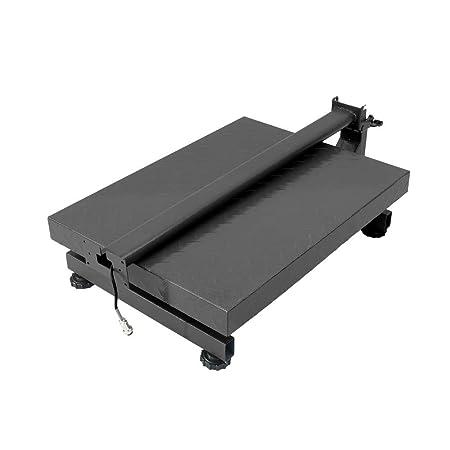 PrimeMatik - Balanza industrial de plataforma 40x50cm báscula 300Kg: Amazon.es: Electrónica