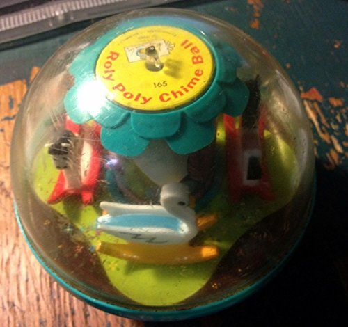 Fisher-Price Roly Poly Chime Ball by 165 Vintage Toy 1966 ()