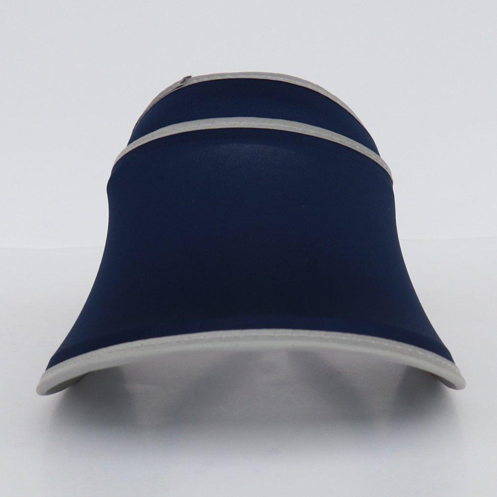 COMVIP Unisex Sport Retractable Sun Protection Anti-UV Visor Hat Sun Cap
