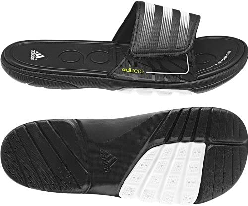 Per quanto riguarda le persone Spedire dominio  adidas Adizero Slide SC 2 Bath Shoe / V22953 Color: Black/Electricity/White  - Men, UK 10: Amazon.co.uk: Shoes & Bags