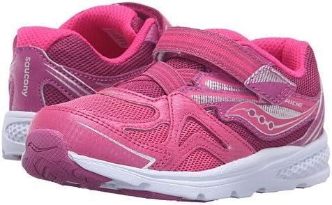 (サッカニー) SAUCONY キッズランニングシューズ・・スニーカー・靴 Baby Ride (Toddler/Little Kid) Pink/Berry 5.5 Toddler 13.5cm M [並行輸入品]