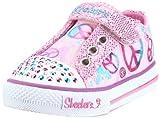 Skechers Kids 10198N Twinkle Toes Jazzy Girl Light-Up Sneaker