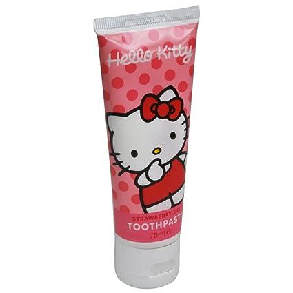 Higiene Dental y Tiritas PD0005 - Pasta dentífrica Hello Kitty