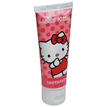 5d4cb8c70 Image Unavailable. Image not available for. Colour: Hello Kitty Toothpaste  75ml