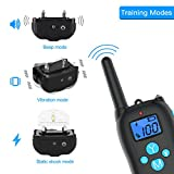 ALTMAN Dog Shock Collar 1000ft Remote Training and 100% Waterproof Rechargeable Shock Collar with Beep Vibration and Electric Dog Collar for All Size Dogs