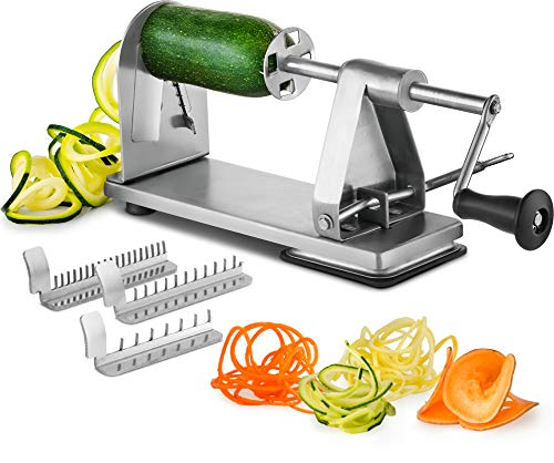 Stainless Vegetable Spiralizer Industrial Grade Restaurant Quality product image