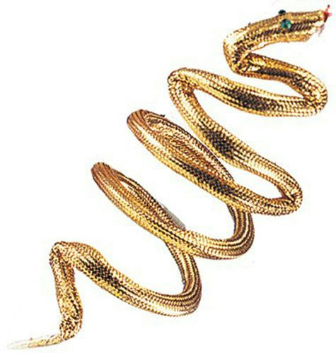 Snake Costumes Kids (Rubie's Costume Co Snake Armband/Bracelet Costume Gold Costume)