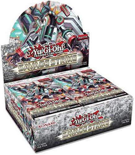- Yugioh Savage Strike English 1st Edition Factory Sealed Booster Box