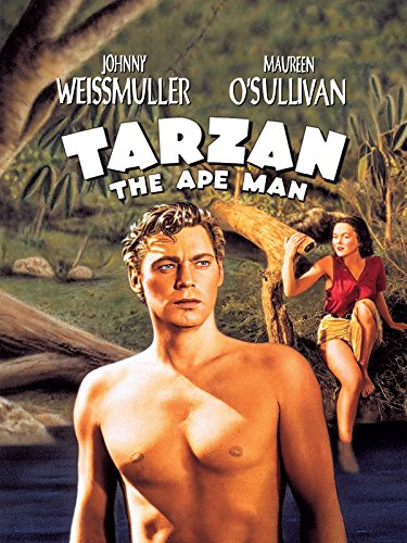 amazon com  tarzan the ape man  1932   johnny weissmuller