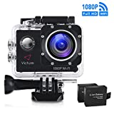 Victure WIFI Action Camera 14MP 1080P Waterproof Sports Cam...