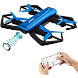 FPV RC Quadcopter OCDAY JJRC-H43 APP-Controlled Foldable Mini RC Drone with 720p WIFIReal Time Transmission Camera