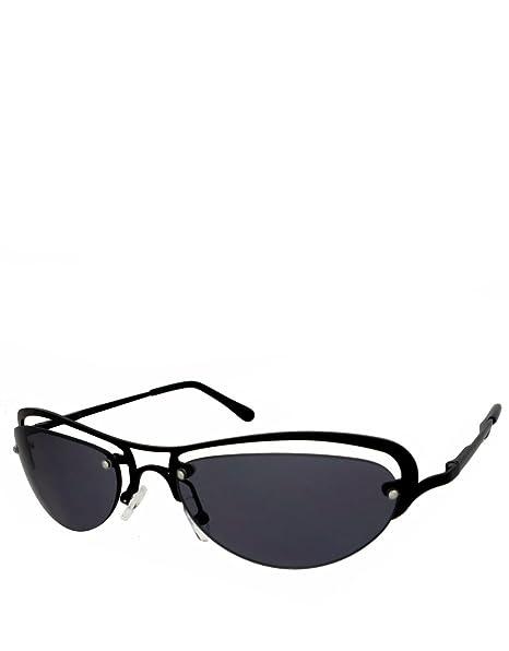 Trinity Estilo gafas de sol, Marco black / lentes ahumadas ...