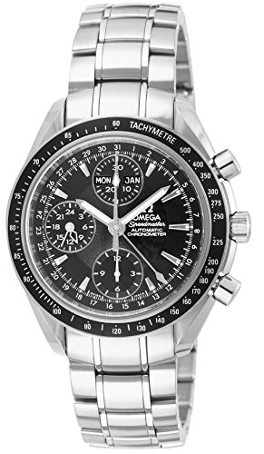Omega Speedmaster Day Date (Omega Men's 3220.50 Speedmaster Analog Automatic Day Date Watch, Silver)