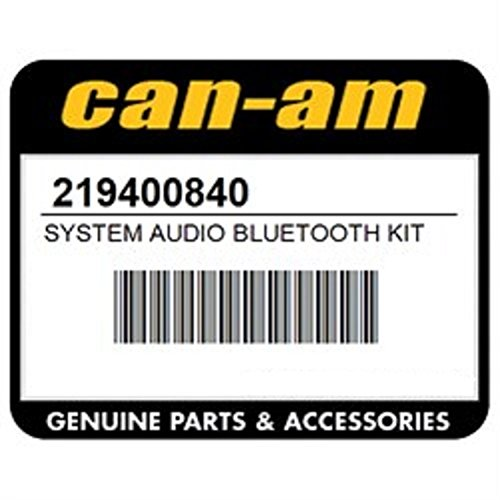 Can Am Audio System with Bluetooth