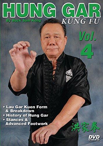 Hung Gar Kung Fu #4 Lau Gar Kuen, history, intricate footwork DVD