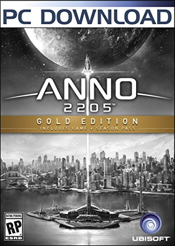 Anno 2205 Gold Edition  [Online Game Code] by Ubisoft