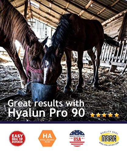 Hyalogic Hyaluronic Acid Horse Joint Supplement– 30 Day Supply Joint Support – Easy To Administer Hyalun 30mg Pure Hyaluronic Acid (Ha) Equine Joint Supplement & Cartilage Supplement by Hyalogic (Image #5)