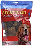 Pet Factory American Beef Hide Beef Flavored Chips Chews for Dogs, Small/18 oz
