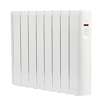 Haverland RCE8S - Emisor térmico digital / radiador de bajo consumo, programable, con indicador