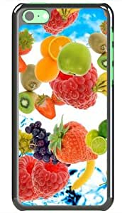 LINMM58281Apple iphone 5/5s Cases Customized Gifts Of Photography photography fresh fruit 18372 BlackMEIMEI