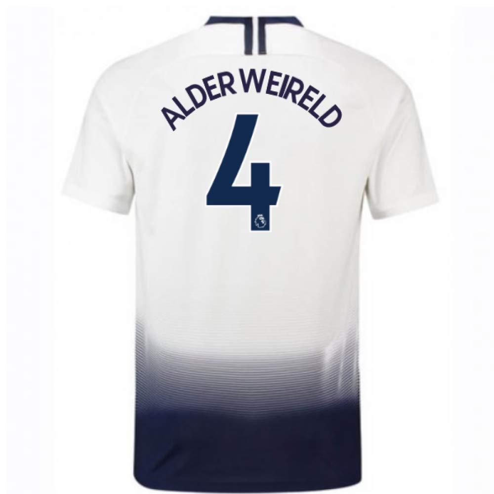 2018-2019 Tottenham Home Nike Football Soccer T-Shirt Trikot (Toby Alderweireld 4)