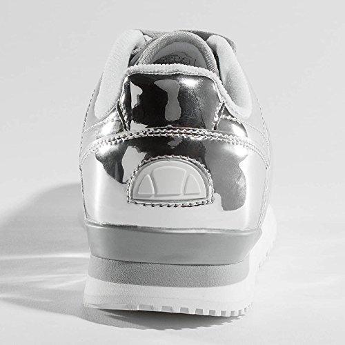 Ellesse Scarpe Da Donna / Sneaker Heritage City Corridore Metallico Argenteo