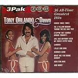 Tony Orlando & Dawn 36 All-Time Greatest Hits [3 CD Set]