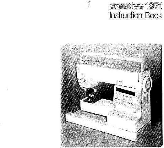 Descargar Pdf-File Pfaff Creative 1371 máquina de coser: Amazon.es ...
