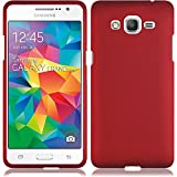 HR Wireless Cell Phone Case for Samsung Galaxy Grand Prime LTE - Retail Packaging - Red