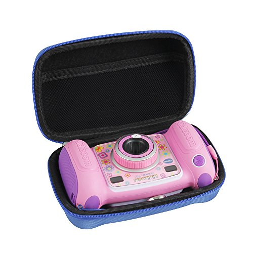 Hermitshell Hard EVA Carrying Case Fits VTech Kidizoom Camera Pix (Blue)