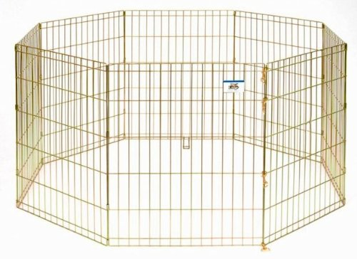 Little Giant Pet Lodge 30 Inch High Metal Pet Exercise Pen