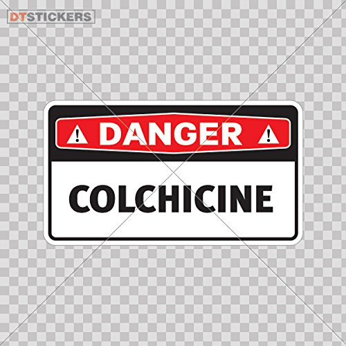 Decal safety sign colchicine color print 3 x 1 7 inch a8dfa size 5 x 2 8 inches vinyl color print buy online in kuwait