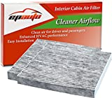 2 Pack - EPAuto CP134 (CF10134) Replacement for Honda & Acura Premium Cabin Air Filter includes Activated Carbon: more info