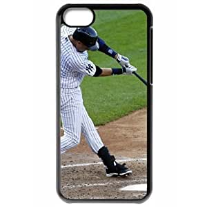 MLB Iphone 5C Black New York Yankees cell phone cases&Gift Holiday&Christmas Gifts NBGH6C9126527