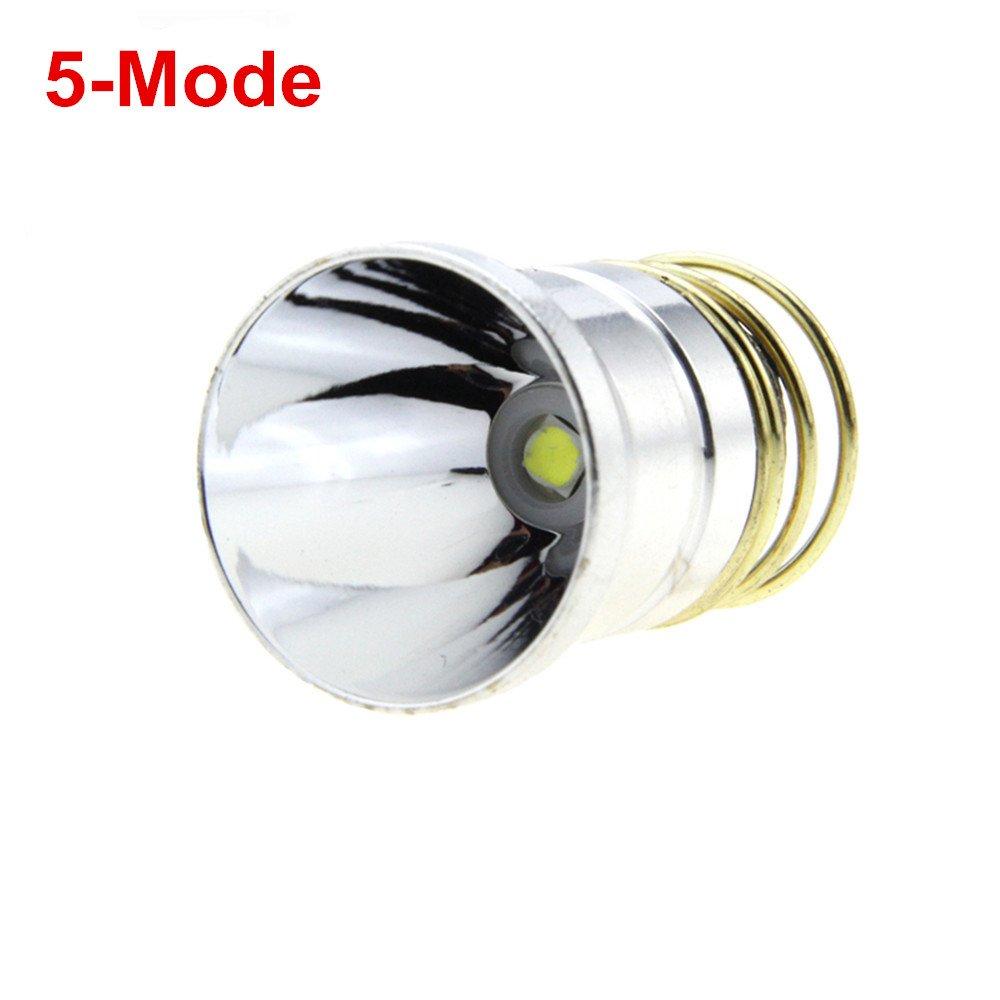 Hot CREE XPL V6 LED 1200Lums 3.6V-8.4V Bulb 5-Mode LED Flashlight Lamp for SureFire 6P G2
