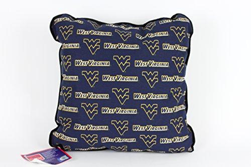 FKS Cushions, Etc. WEST VIRGINIA PILLOW-WEST VIRGINIA THROW PILLOW-WVU ACCENT PILLOW by FKS Cushions, Etc.