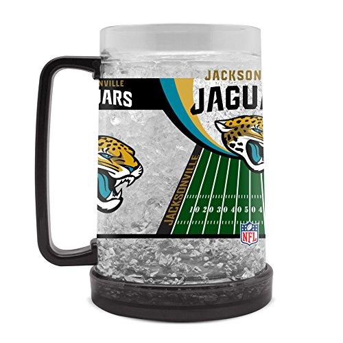 NFL Jacksonville Jaguars 16oz Crystal Freezer Mug