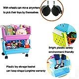 MAGDESIGNER Kids' Toys Storage Organizer Bins